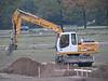Carlo van Kessel digging the excavation