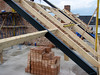 Roof beam construction