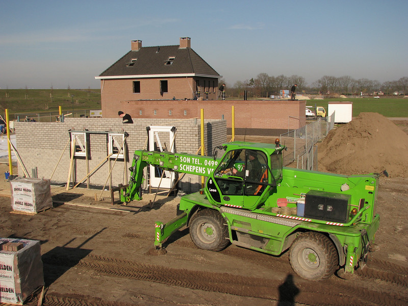 transport of the outside bricks