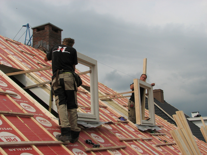 Alignement of the dormers by Hans and Jarno