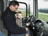 Jesse, the new driver of Frans Merks transport