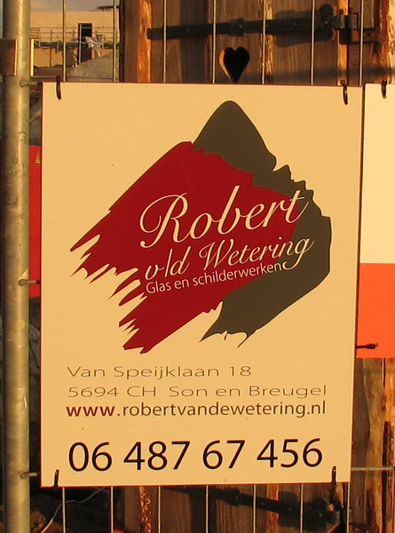 sign of  Roberts company