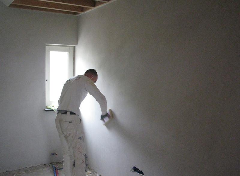 Grazing the plasterwork's of the attic