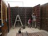 Framing, pour concrete