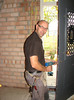 Fixing the front door by firm van der Linden