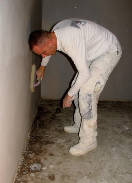Grazing the plasterworks