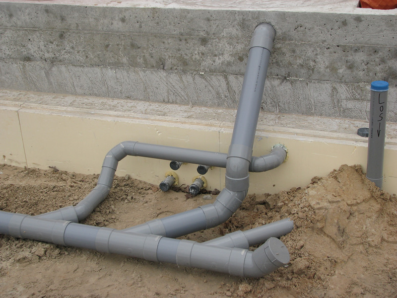 Part of the sewer system