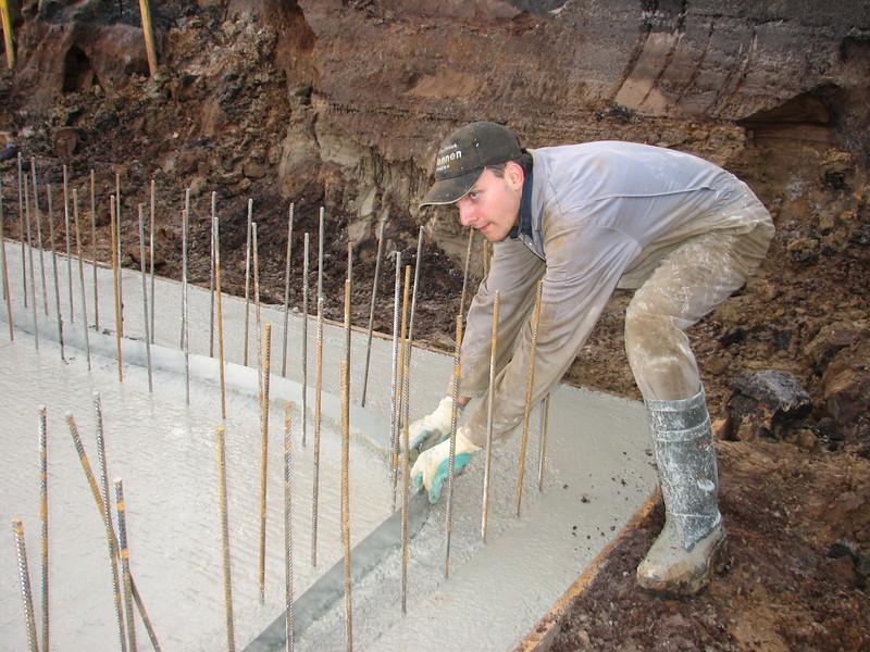 Water sealing walls