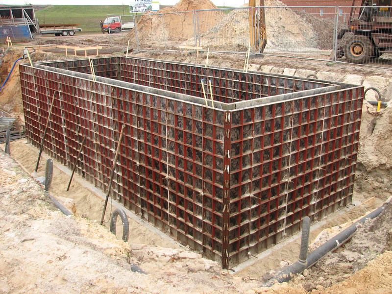 Ready to cast concrete