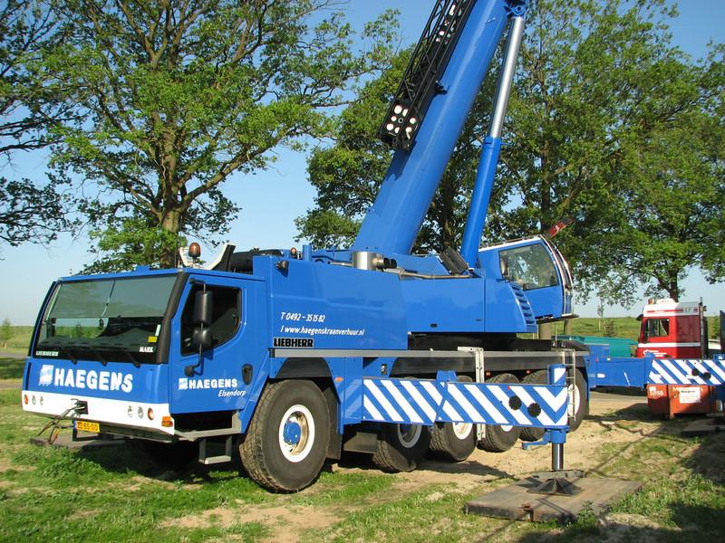 Telescopic Crane 85m height, Haegens, Elsendorp