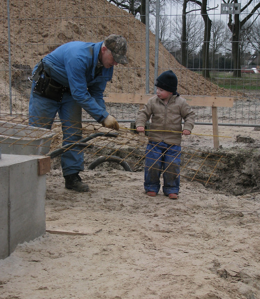 Measuring the reinforcement with assistance from Stijn
