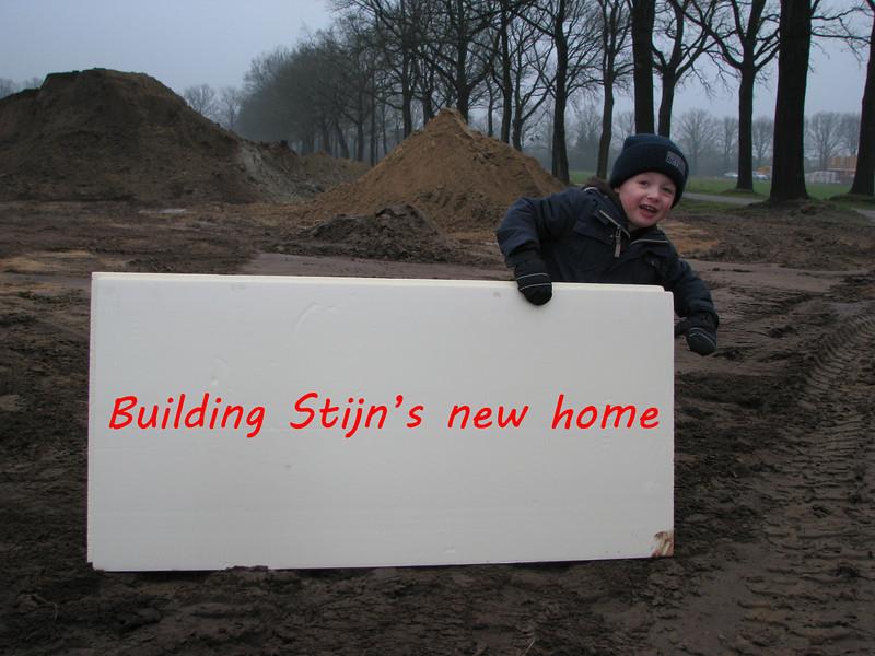 Start building Stijn's new home