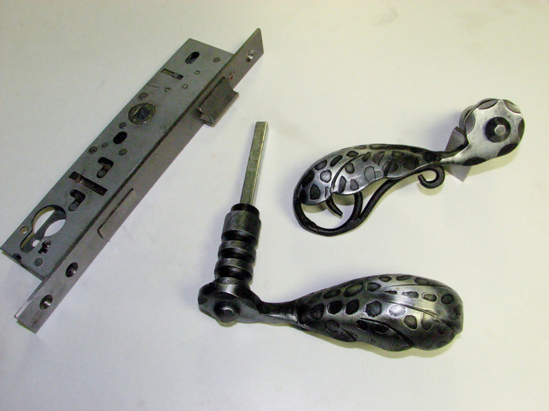 Lock and gate handles