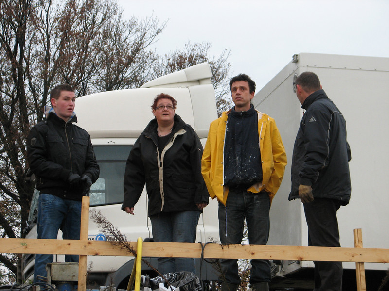 Building-team: Stijn, Imke, Robert en Frans