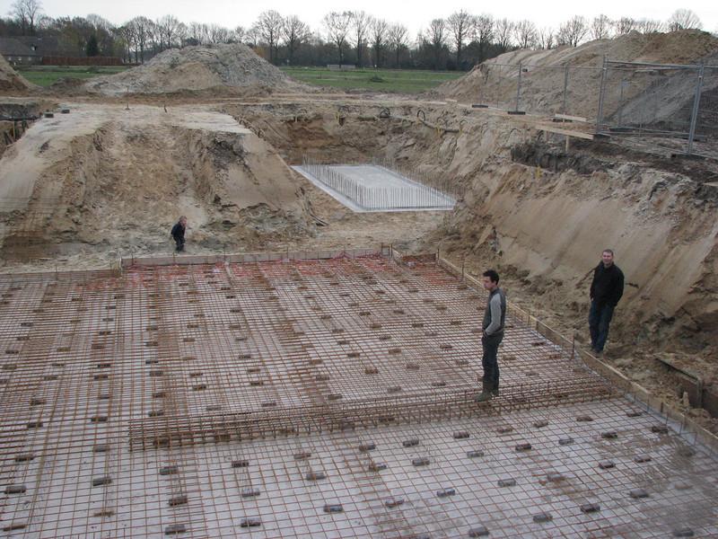 Reinforcement of the mainbuilding