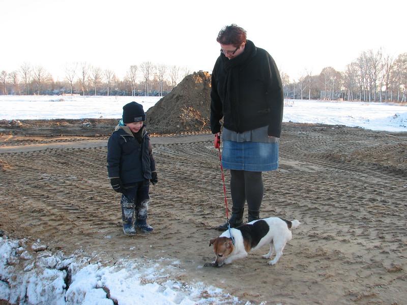 "Stijn meet Imke and her dog ""Saartje'"