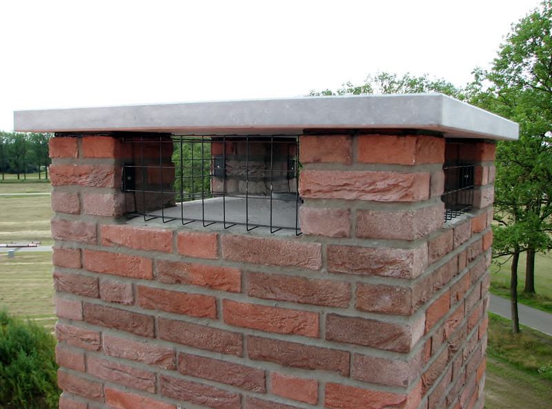 Chimney protection against intruders (birds)