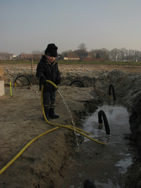 Pumping the cellar and drain the water
