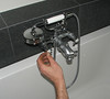 Erick  mounting the bath tap