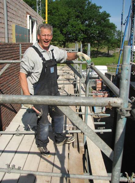 Toon, expert in scaffolding