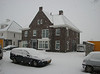 Snowing in Jufferlaan 36/38, Sonnius park