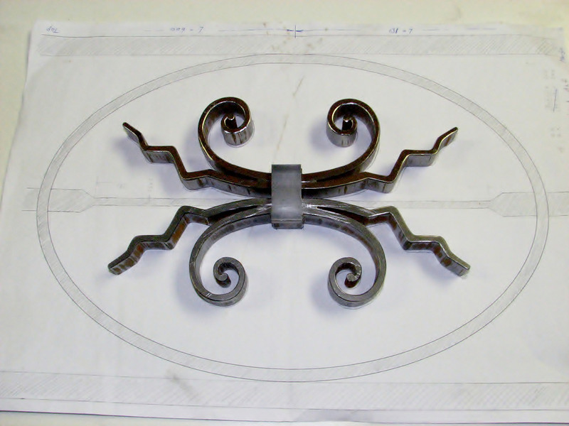 Waterjet cutting parts