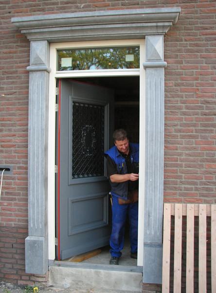 Fixing the front door by firm van der Linden
