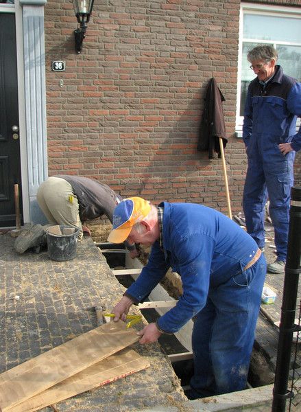 Making the mould of the foundation