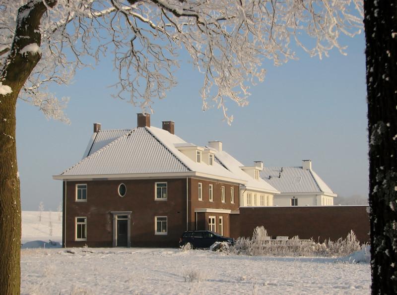 Winter, -18 degrees Celsius
