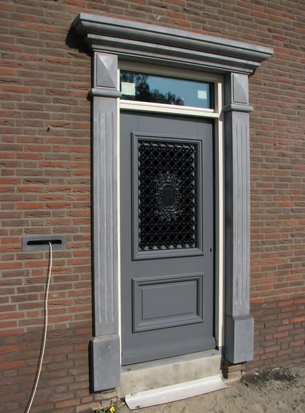 The front door of Jufferlaan 36
