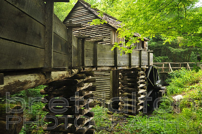 Mill at Cade's Cove in Great Smoky Mountains National Park