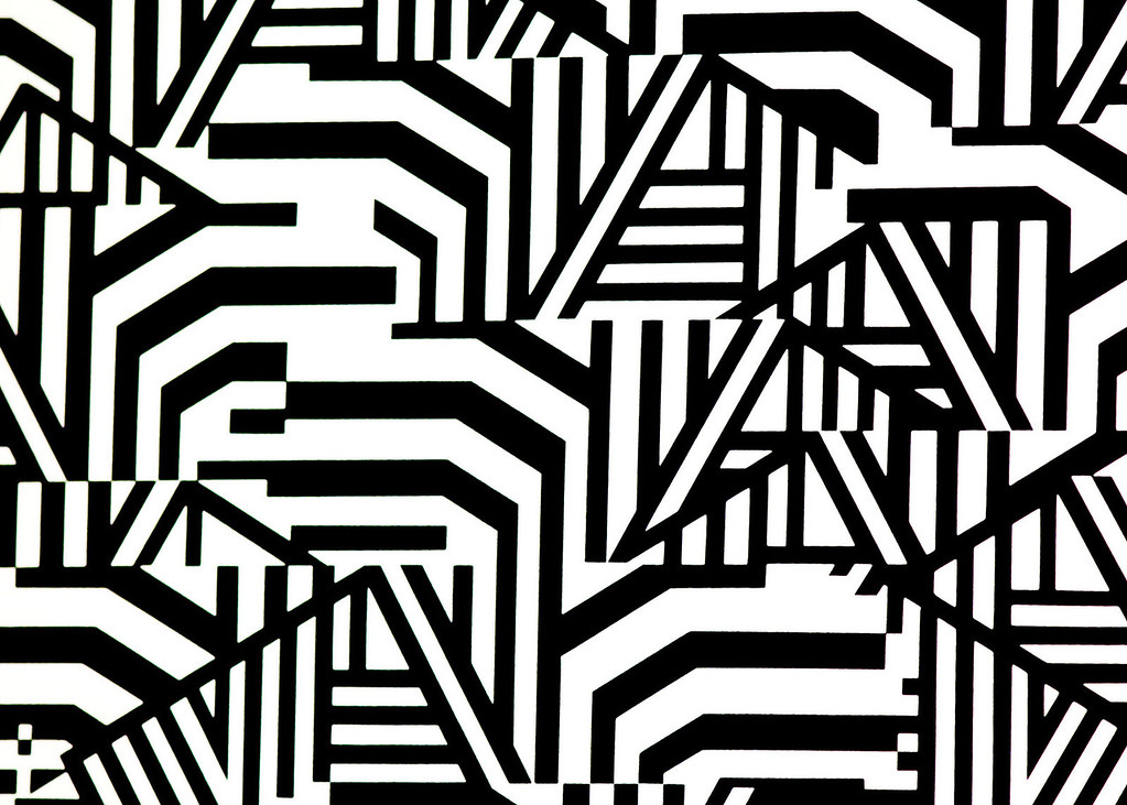 """Zebra Stripes""<br /> Assignment:  Abstract"