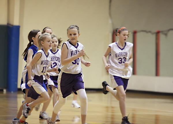 2012-01 Girls Basketball