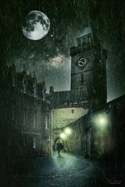 Auld Reekie by Night