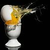 White egg, alternate lighting version.