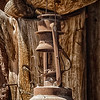 Rusty Oil Lamp, El Rancho de la Golondrinas, Los Pinos Road, Santa Fe, New Mexico