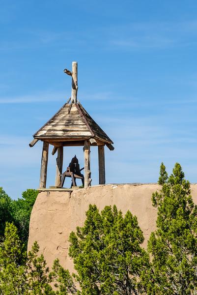 Morada de la Conquistadora (Penitente Meeting House), El Rancho de la Golondrinas, Los Pinos Road, Santa Fe, New Mexico