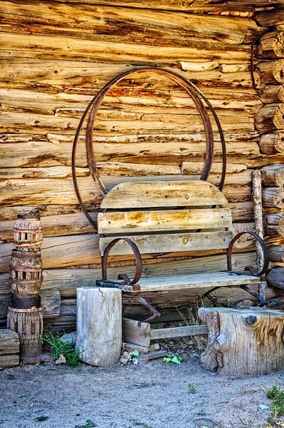 Carreteria (Wheelwright Shop), El Rancho de la Golondrinas, Los Pinos Road, Santa Fe, New Mexico