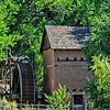 The Big Mill from Sapello, El Rancho de la Golondrinas, Los Pinos Road, Santa Fe, New Mexico
