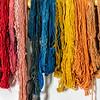 Dyed Wool in Weaving Room, El Rancho de la Golondrinas, Los Pinos Road, Santa Fe, New Mexico