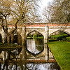 Moat bridge built by Edward IV, Eltham Palace, London, England