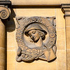 Gardening, one of Gilbert Ledward relief depicting outdoor interests, Eltham Palace, London, England