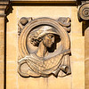 Games, one of Gilbert Ledward relief depicting outdoor interests, Eltham Palace, London, England