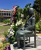 "Glendale Peace Monument which memorializes the pain and suffering of ""Comfort Women"", those women and young teens who were kidnapped and forced to serve the Japanese military as sex slaves, during WWII.<br /> <br /> ""The message is clear: It is correct and worthy to remember the victims of Japanese military sexual slavery by way of resolutions, memorials and other visible means of various U.S. governmental levels"": by Phyllis Kim, KAFC Director. <br /> July 29, 2017"