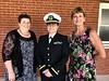 ENS Jennifer Edwards, US Navy, volunteered to accompanied William Klasing's casket from Omaha, Nebraska to its final resting place in Trenton, Illinois.