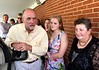 David Klasing, DNA donor, from Calera, AL and his niece Anita Klasing from Birmingham, AL, with Linda Rakers.