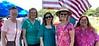 Ginny & Kathy Schonene, Barb (Glanzer) Lockowicz,, Karen (Zurliene) Reiger & Mary Jo (Kniepmann) Miller.