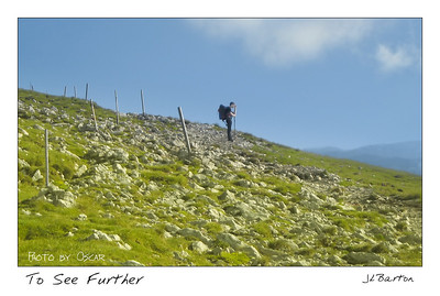 Steven above the horizon On top of Schneeberg, July 2009 Austria
