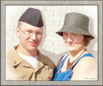 Edward and Angie Great Lakes, Illinois 2009-07-17