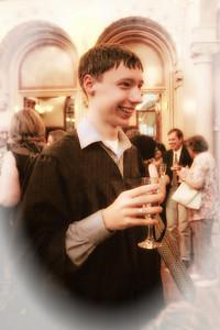 Steven's graduation June 11th, 2010 American International School, Vienna, Austria held in Palais Ferstl